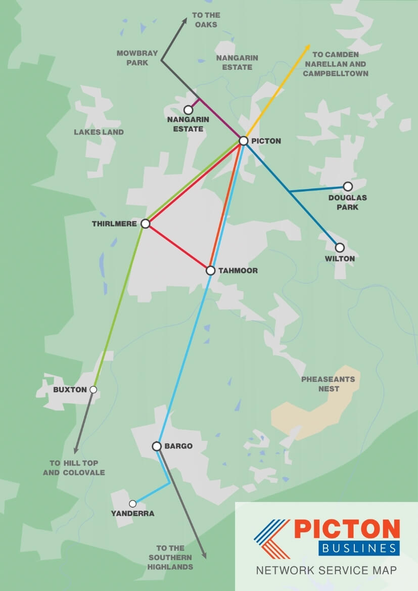 picton buslines map
